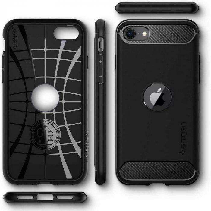 Husa Spigen Rugged Armor IPhone SE 2020 [1]