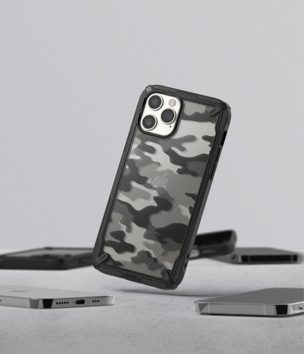 Husa Ringke Fusion X IPhone 12/12 Pro camo [8]