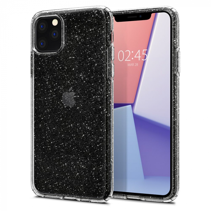 Husa Spigen Liquid Crystal Glitter IPhone 11 Pro [7]