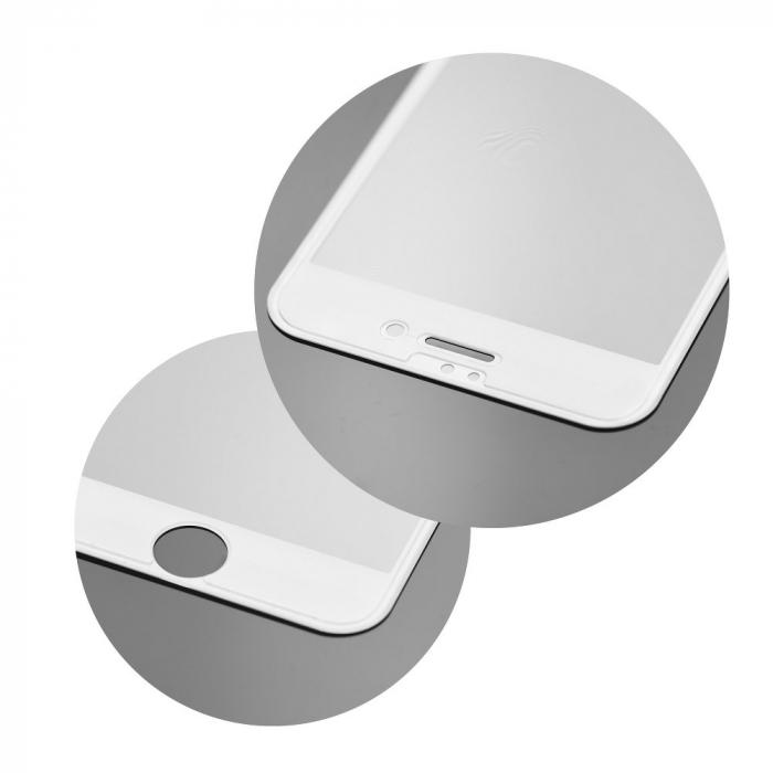 Folie 5D ful glue Huawei P10 alb [2]