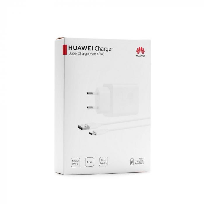 Incarcator retea Huawei Super Charge CP84 Max 40 W cablu type C 0
