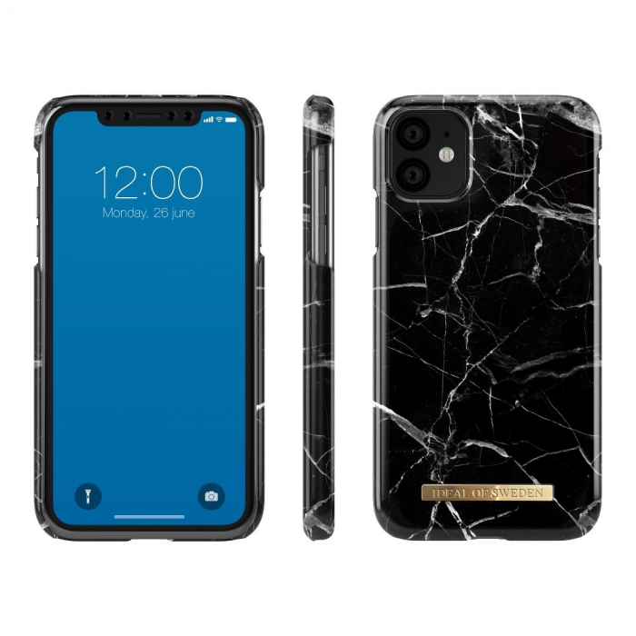 Husa Ideal Of Sweden IPhone 11 Black Marble [2]