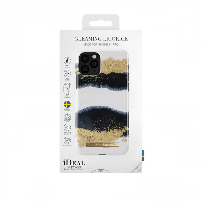 Husa Ideal Of Sweden IPhone 11 Pro Gleaming Licorice [2]