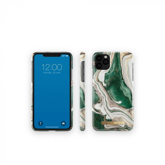 HUSA IDEAL OF SWEDEN iPhone 11 Pro Max Golden Jade Marble 1