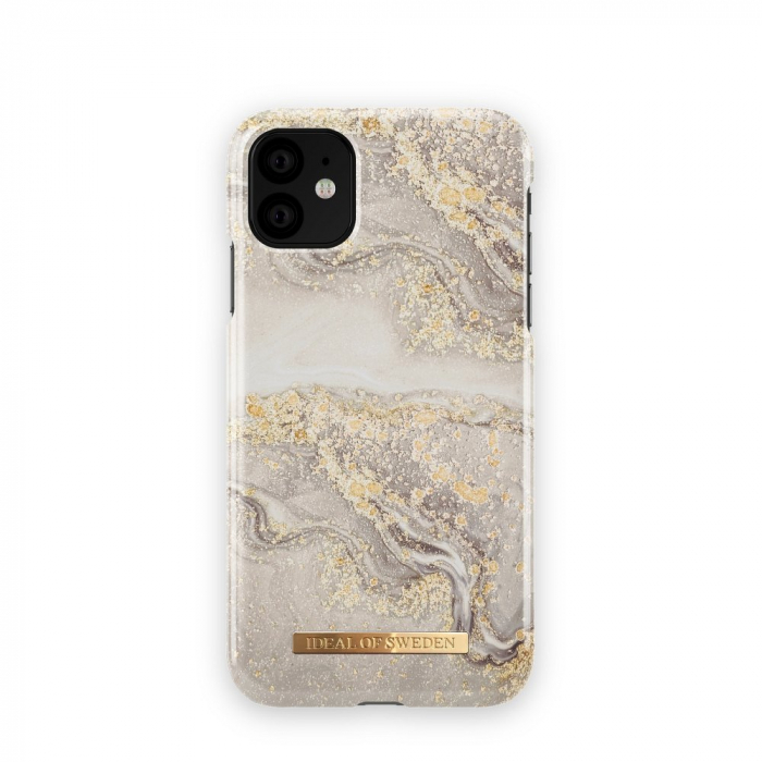 Husa Ideal Of Sweden IPhone 11 Pro Max Sparkle Greige Marble 0