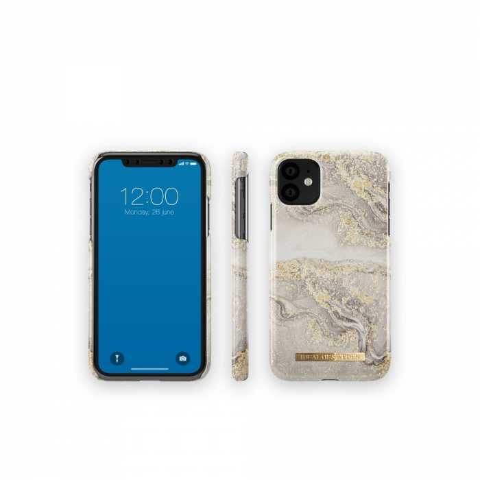 Husa Ideal Of Sweden IPhone 11 Pro Max Sparkle Greige Marble 1