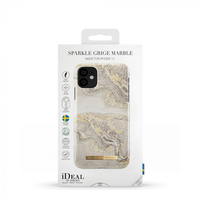 Husa Ideal Of Sweden IPhone 11 Pro Max Sparkle Greige Marble 2