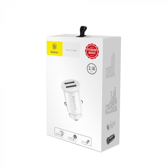 Incarcator auto Baseus Grain  USB 5V 3.1A  CCALL-ML02 [2]