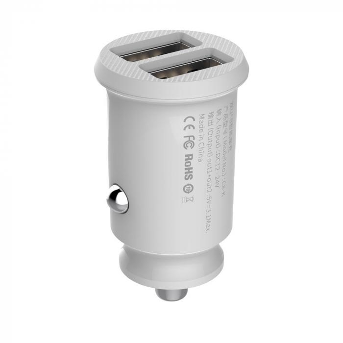 Incarcator auto Baseus Grain  USB 5V 3.1A  CCALL-ML02 [3]