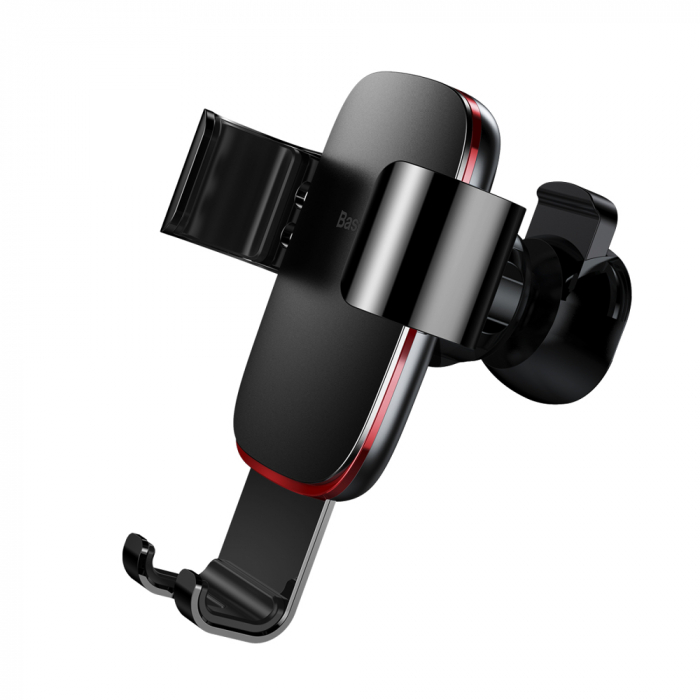 Baseus Metal Age Gravity Car Mount Phone Holder for Air Outlet black (SUYL-D01) 2