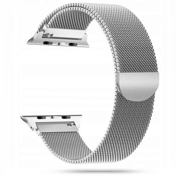 Curea otel inoxidabil Tech-Protect Milanese Apple Watch 42/44MM [2]
