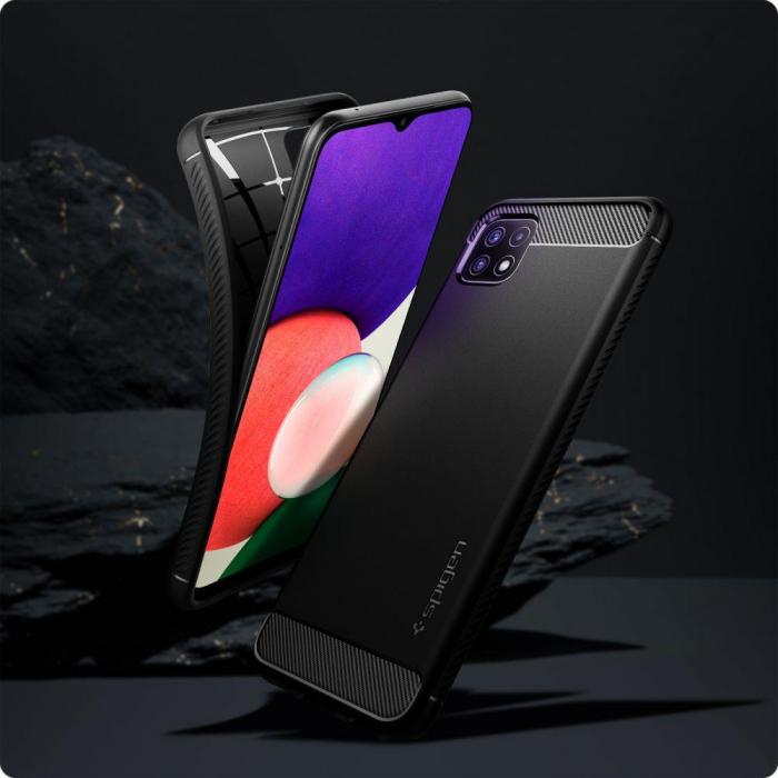 Husa Spigen Rugged Armor Samsung Galaxy A22 5g [2]