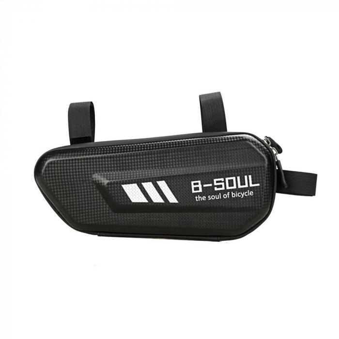 Geanta bicicleta B-Soul pentru cadru  1.5 L black 0