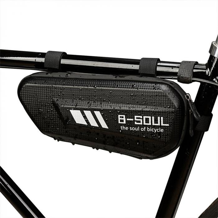 Geanta bicicleta B-Soul pentru cadru  1.5 L black 6