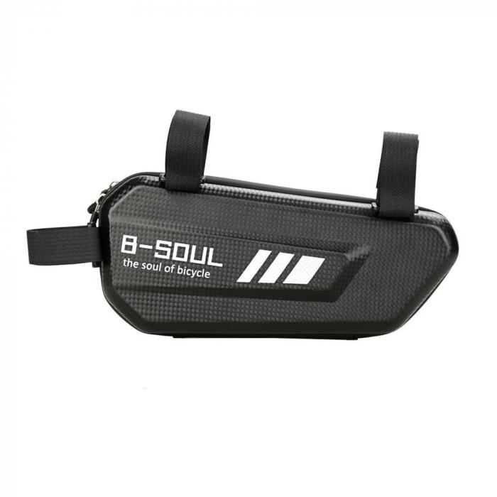 Geanta bicicleta B-Soul pentru cadru  1.5 L black 2