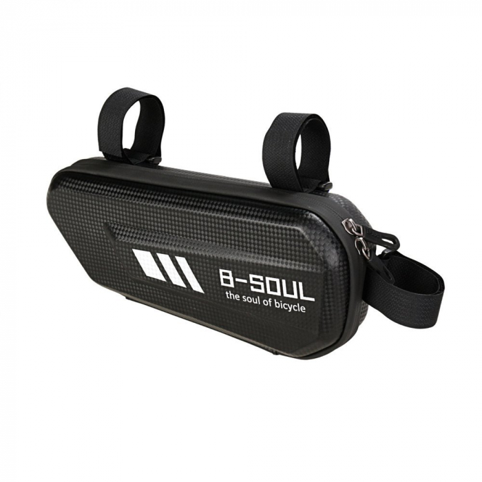 Geanta bicicleta B-Soul pentru cadru  1.5 L black 12