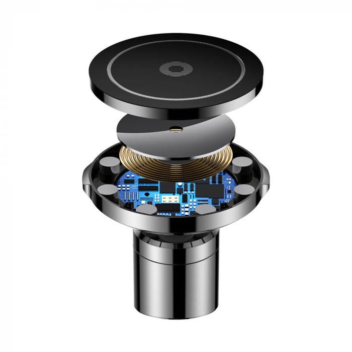 Suport auto magnetic Baseus Big Ears incarcare wireless QI [3]
