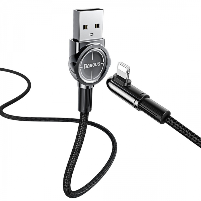 Cablu date/incarcare Baseus Mobile Game lightning 1m 2.4 A [2]