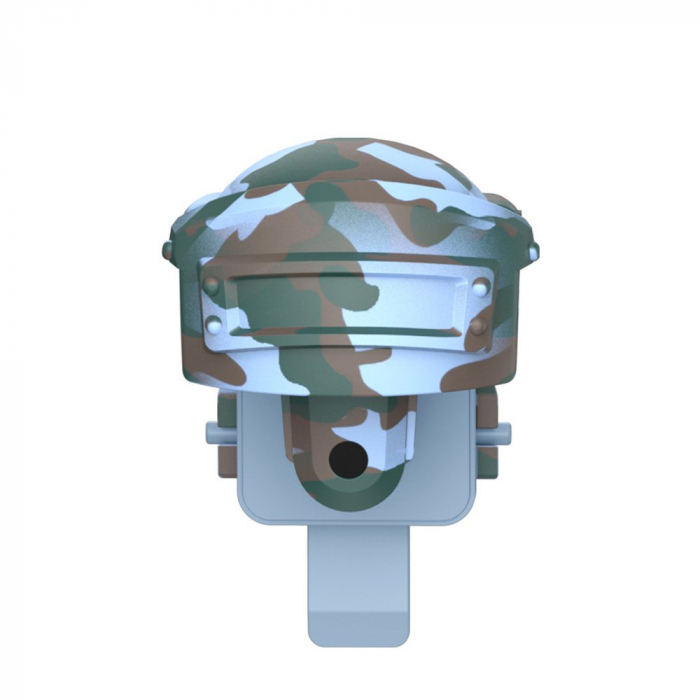 Grip-uri Baseus Level 3 Helmet PUBG Extra Buttons Camouflage blue (GMGA03-A03) 0