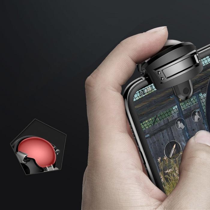 Grip-uri Baseus Level 3 Helmet PUBG Extra Buttons Camouflage blue (GMGA03-A03) 8