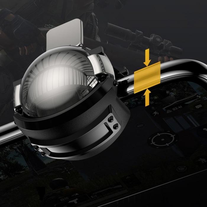 Grip-uri Baseus Level 3 Helmet PUBG Extra Buttons Camouflage blue (GMGA03-A03) 4