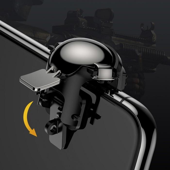 Grip-uri Baseus Level 3 Helmet PUBG Extra Buttons Camouflage blue (GMGA03-A03) 6