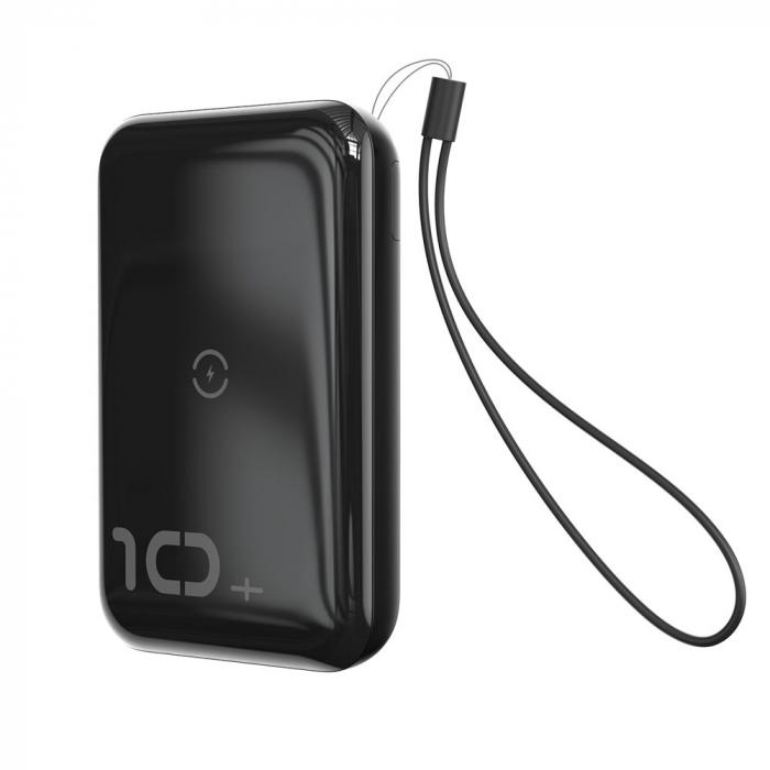 'Baterie externa Baseus Mini S Bracket incarcare QI wireless 10000MAH' [7]