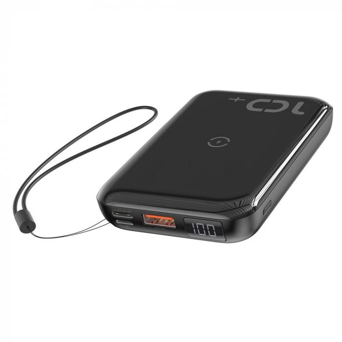 'Baterie externa Baseus Mini S Bracket incarcare QI wireless 10000MAH' [6]