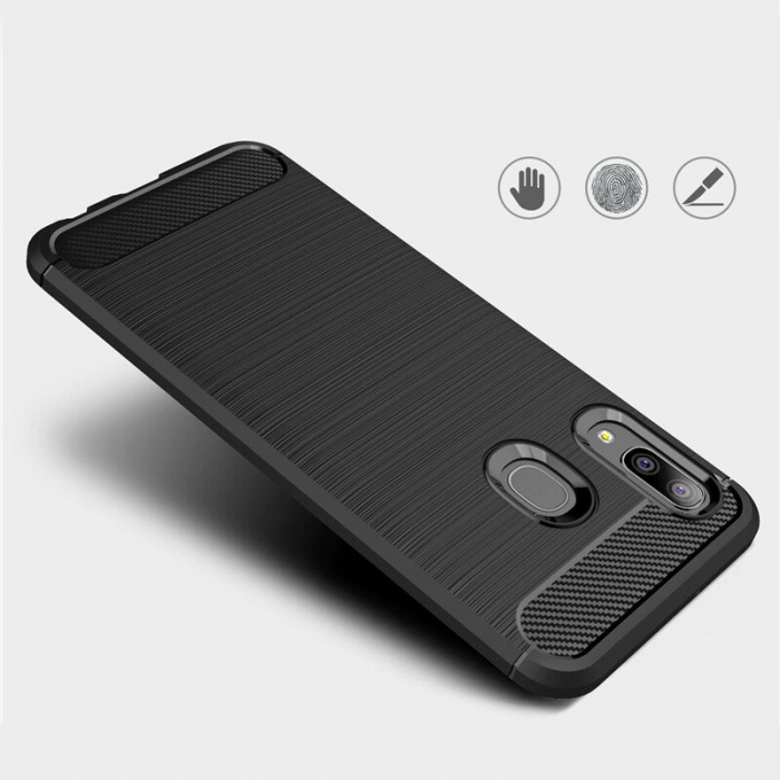 Husa TPU carbon Samsung Galaxy A20e 1