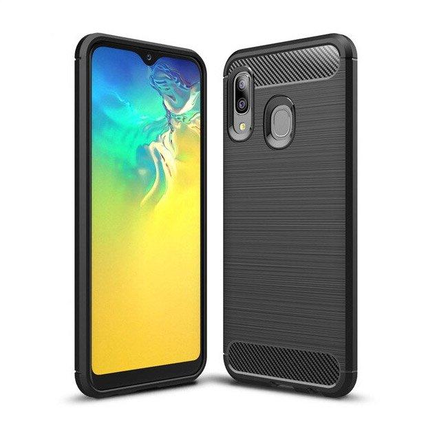 Husa TPU carbon Samsung Galaxy A20e 0