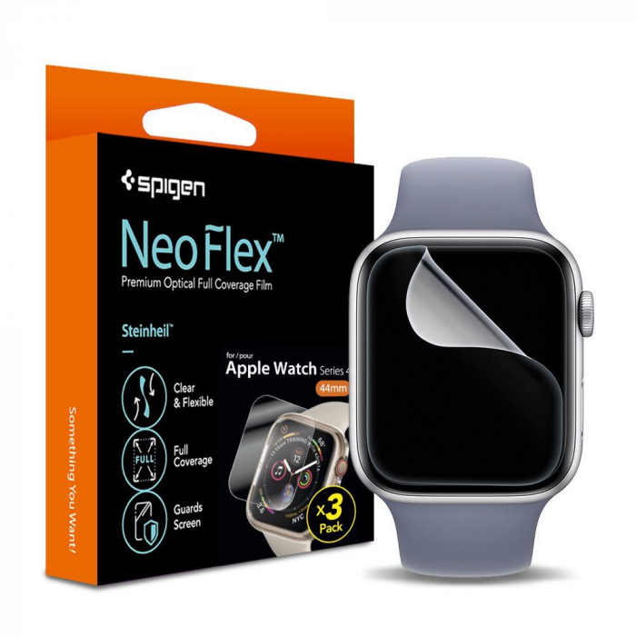 FOLIE OCHRONNA SPIGEN NEO FLEX HD APPLE WATCH 4 40MM 0