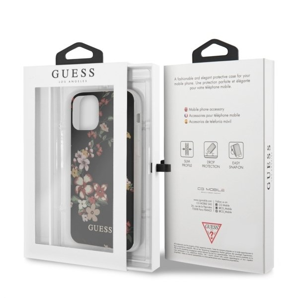 HUSA GUESS FLOWER COLLECTION IPHONE 11 PRO BLACK 6
