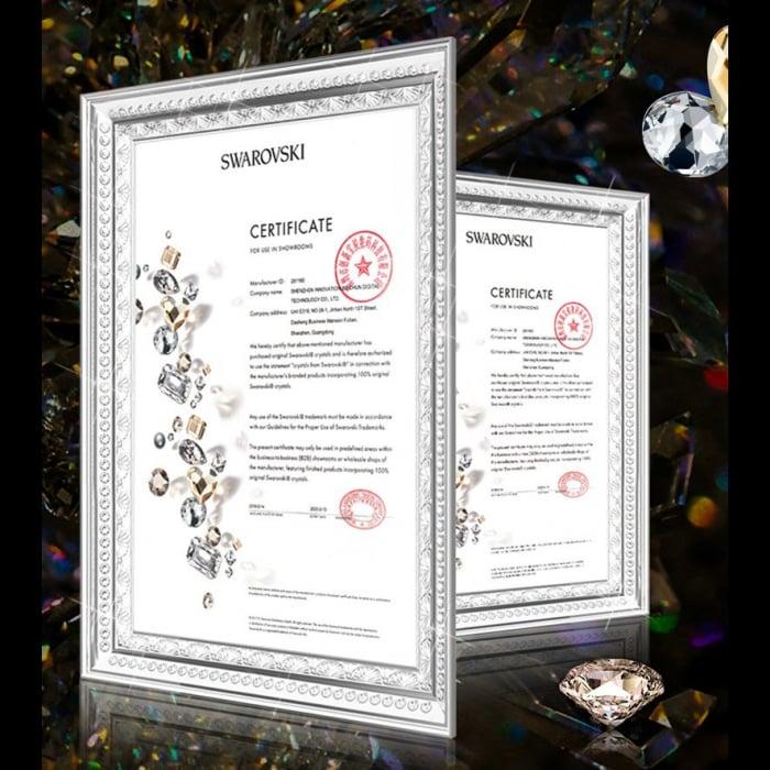 Husa Kingxbar Wish Swarovski crystals Samsung Galaxy S20 Ultra black 1