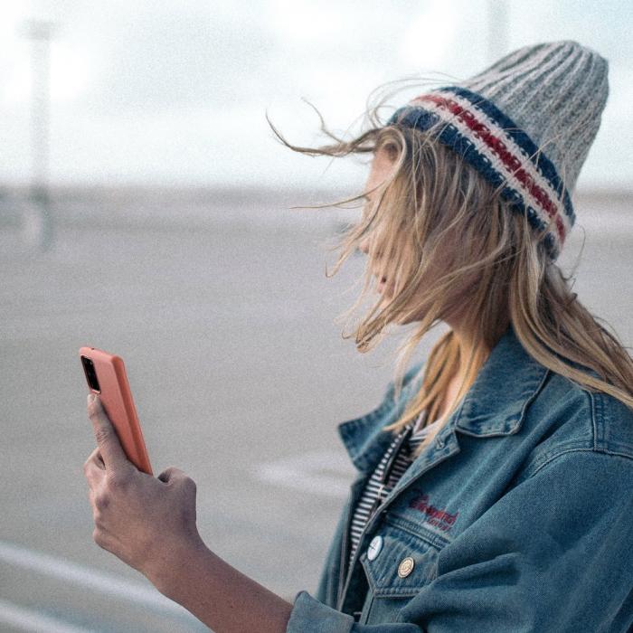Husa Ringke Air S Samsung Galaxy S20 coral 1