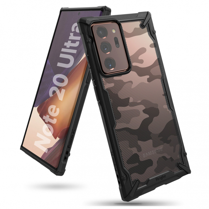 Husa Ringke Fusion X Samsung Galaxy Note20 Ultra camo 0