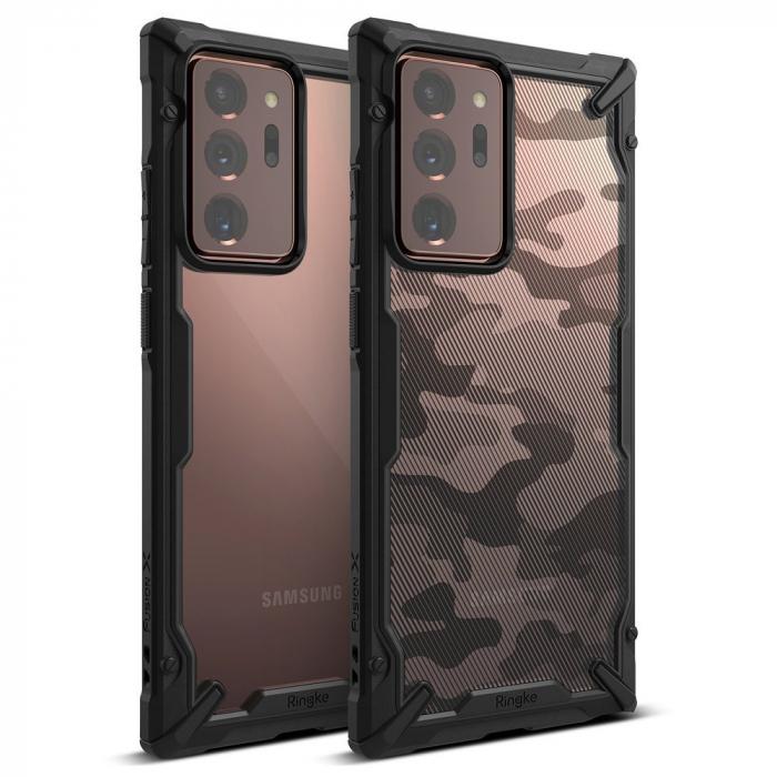 Husa Ringke Fusion X Samsung Galaxy Note20 Ultra camo 3