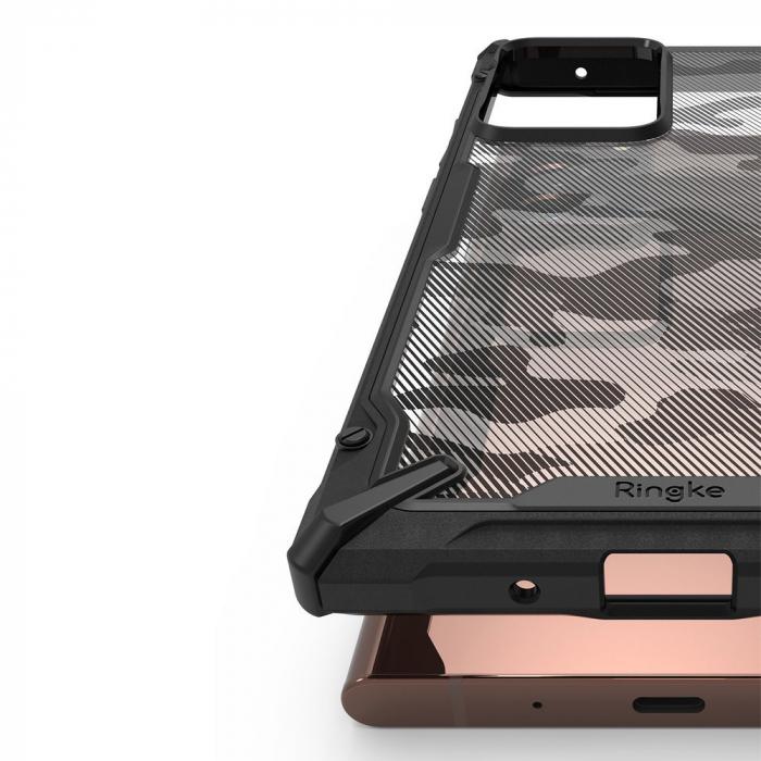 Husa Ringke Fusion X Samsung Galaxy Note20 Ultra camo 5