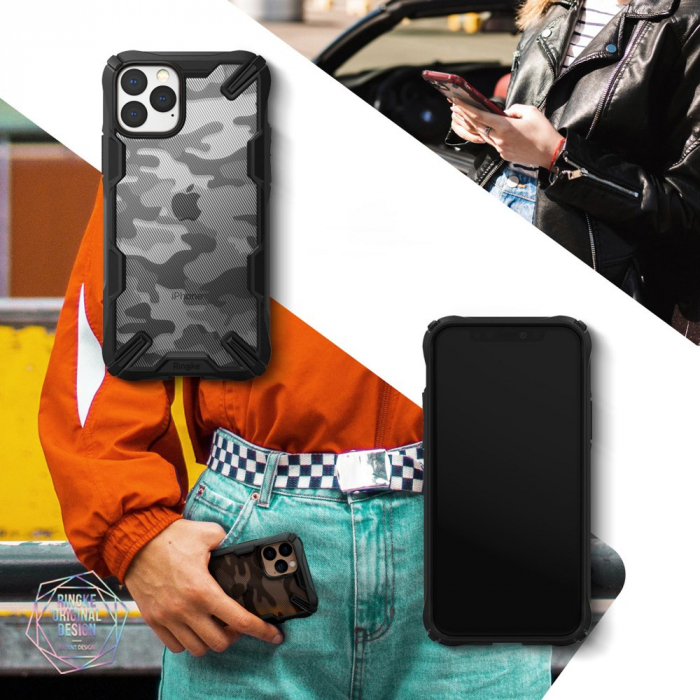 Husa Ringke Fusion X IPhone 11 Pro camo [6]
