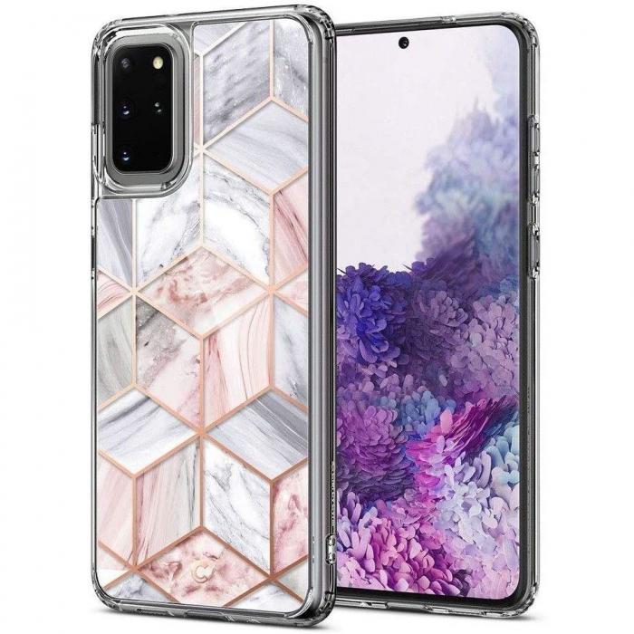 Husa Spigen Ciel Etoile Samsung Galaxy S20 Plus Pink Marble 0