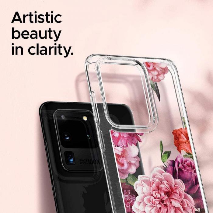 Husa Spigen Ciel Samsung Galaxy S20 Ultra Rose Floral [3]