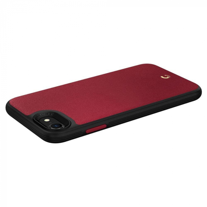 Carcasa Spigen Ciel Leather Brick iPhone 7/8/SE 2020 Red 3