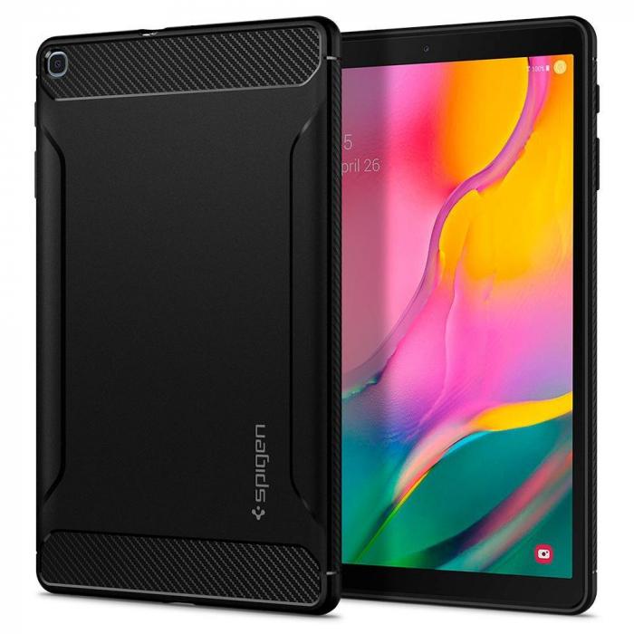 Husa Spigen Rugged Armor Galaxy Tab A 10.1 2019 T510/T515 Black 0