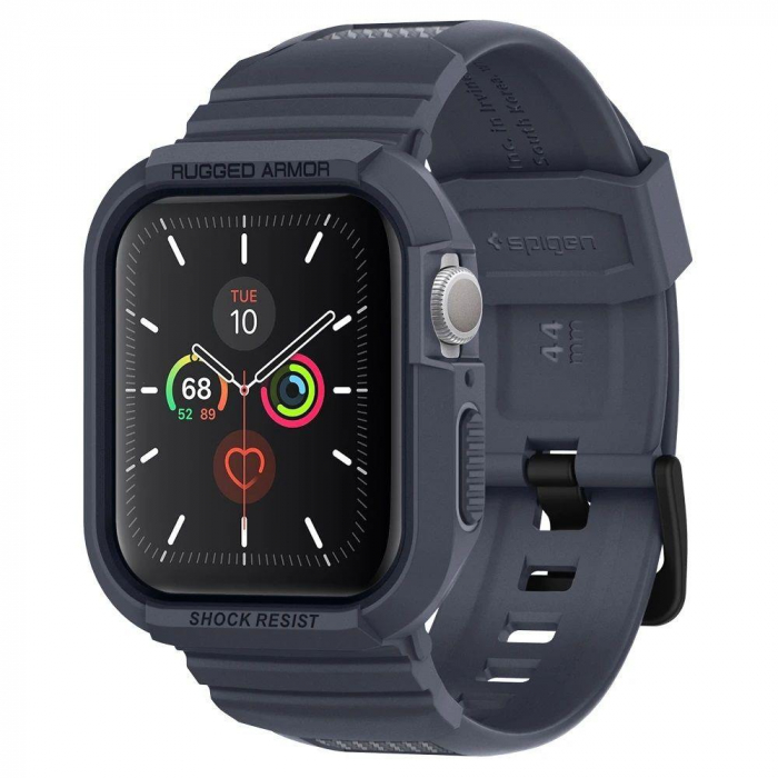 CUREA SPIGEN RUGGED ARMOR PRO APPLE WATCH 44MM CHARCOAL GREY 0