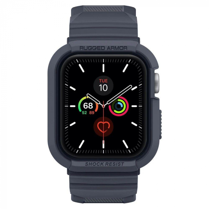 CUREA SPIGEN RUGGED ARMOR PRO APPLE WATCH 44MM CHARCOAL GREY 5