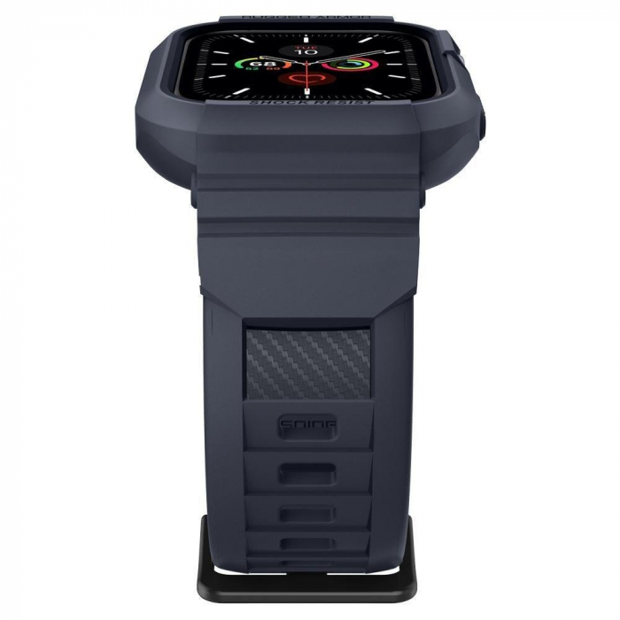 CUREA SPIGEN RUGGED ARMOR PRO APPLE WATCH 44MM CHARCOAL GREY 6