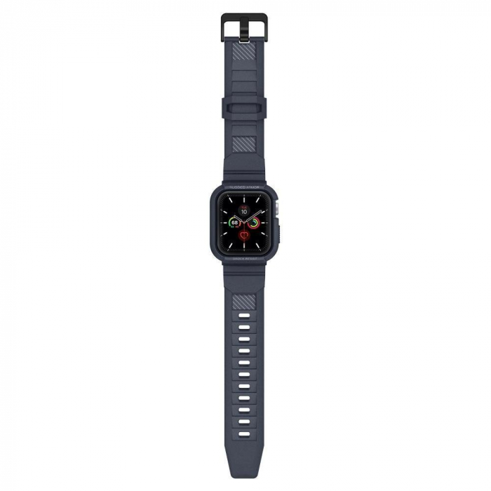 CUREA SPIGEN RUGGED ARMOR PRO APPLE WATCH 44MM CHARCOAL GREY 7