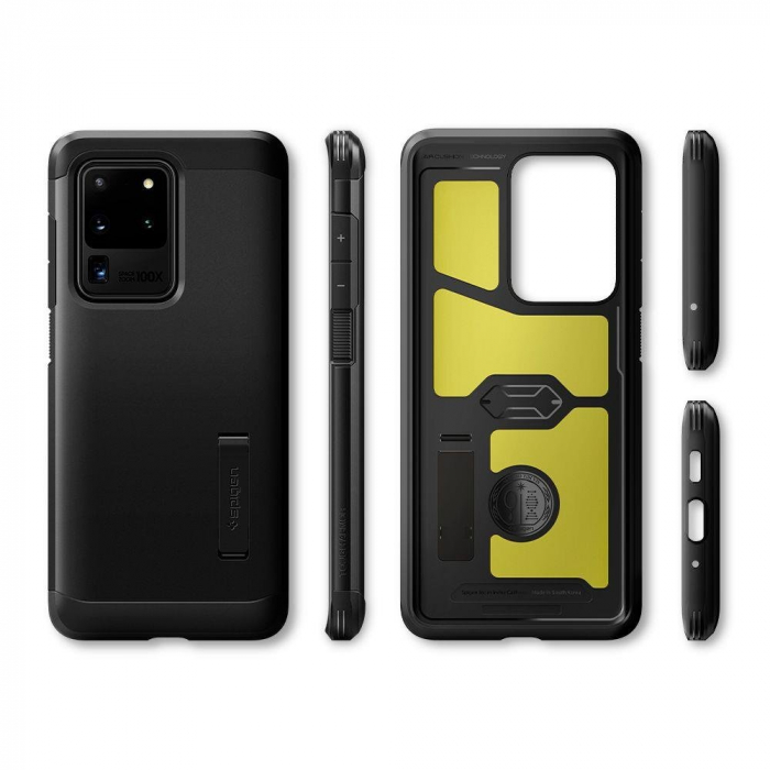 Carcasa Spigen Tough Armor Samsung Galaxy S20 Ultra Black 7