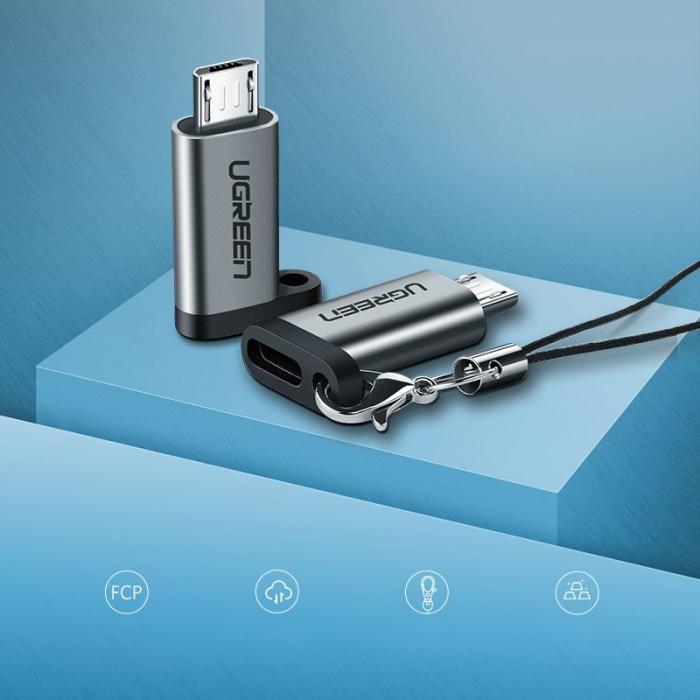 Adaptor Ugreen USB type C la microUSB [1]