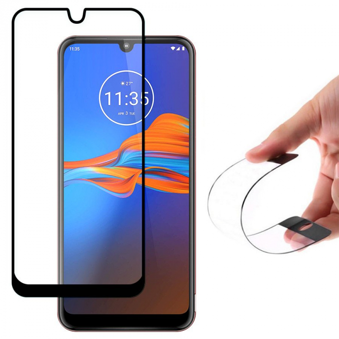 Folie sticla Wozinsky full glue Motorola Moto E6 Plus 0