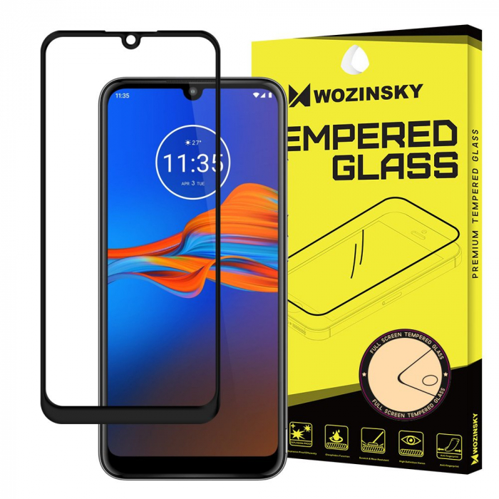 Folie Wozinsky Tempered Glass Full Glue Motorola Moto E6 Plus 0